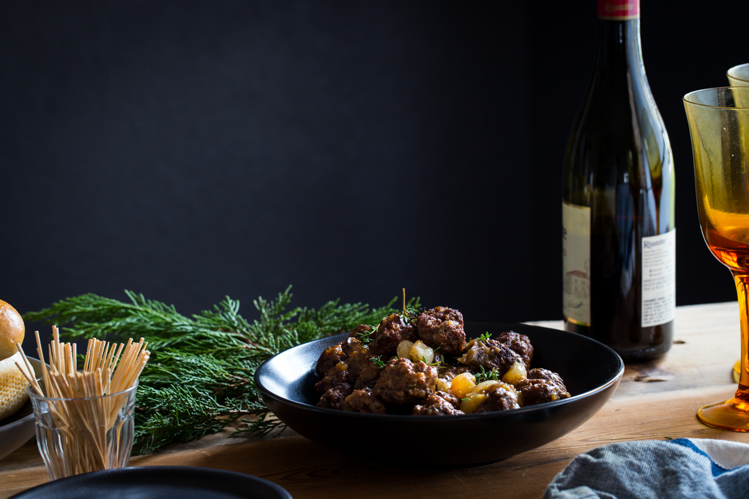 Beef Bourguignon Meatballs will be a great fit for any holiday spread!