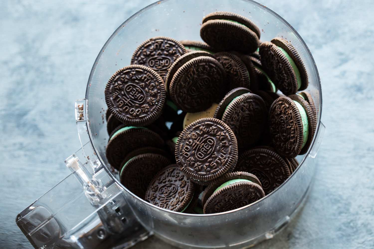 Christmas Tree OREO Cookies are started with crushed mint OREO Cookies and are transformed into incredible little pops!