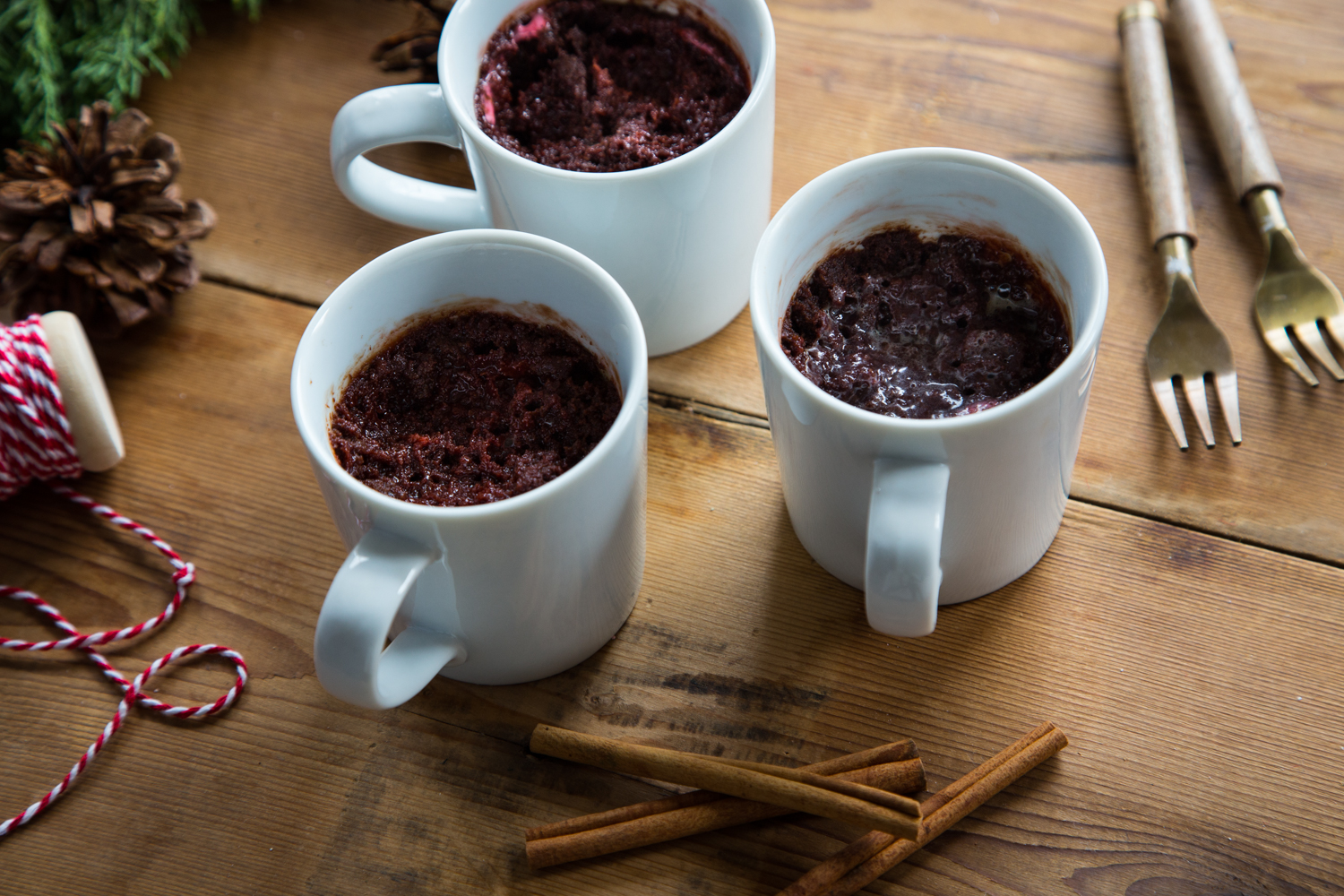 Try a Cinnamon Marshmallow Mug Brownie tonight for a little sweet, holiday treat!