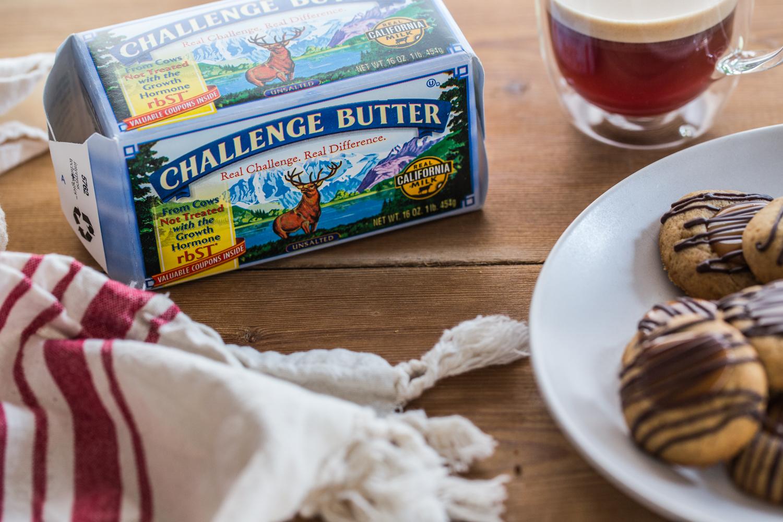 Ginger Caramel Thumbprint Cookies | JellyToastBlog.com (5 of 6)