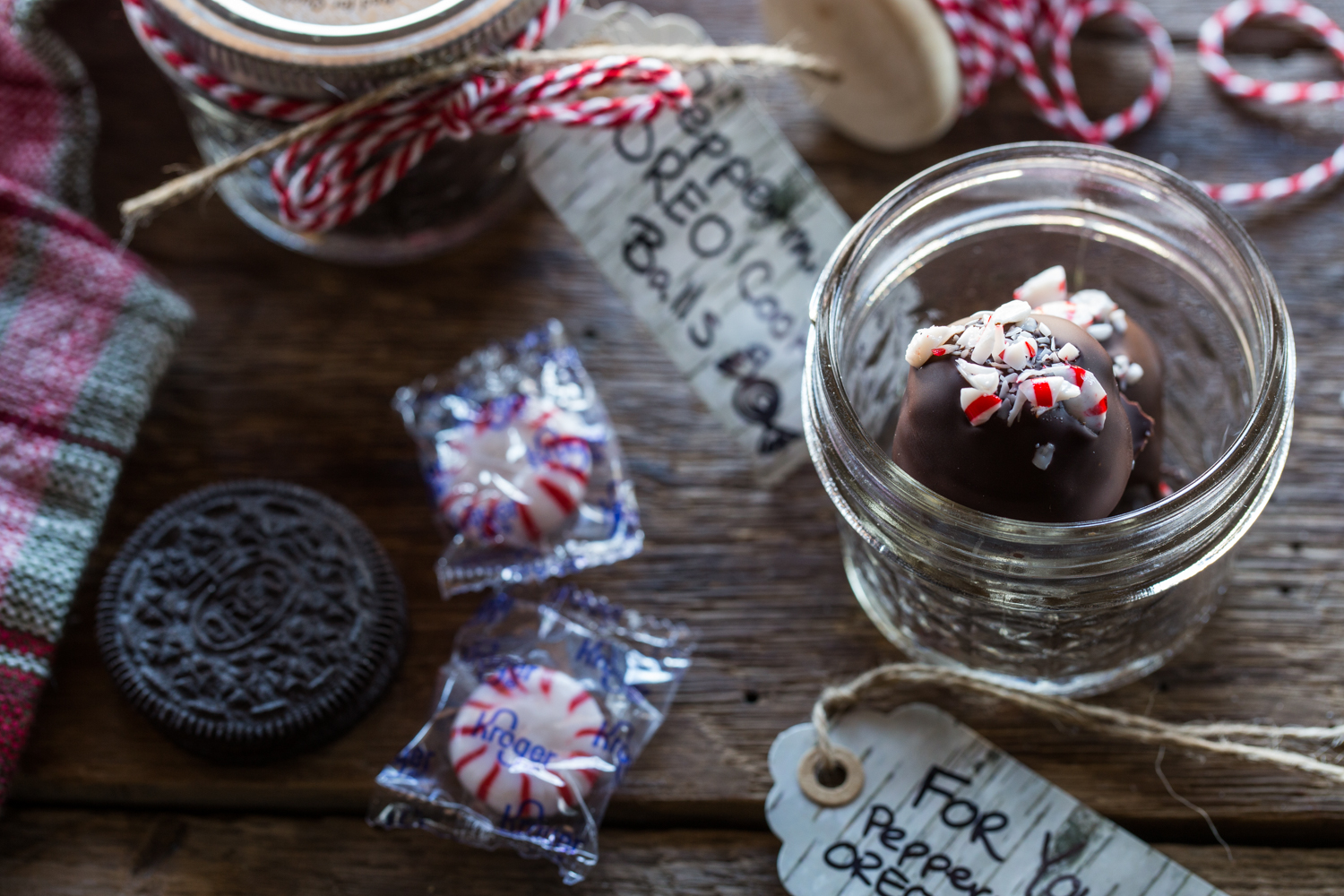 Peppermint OREO Cookie Balls are a must make for any Christmas Cookie Tray!