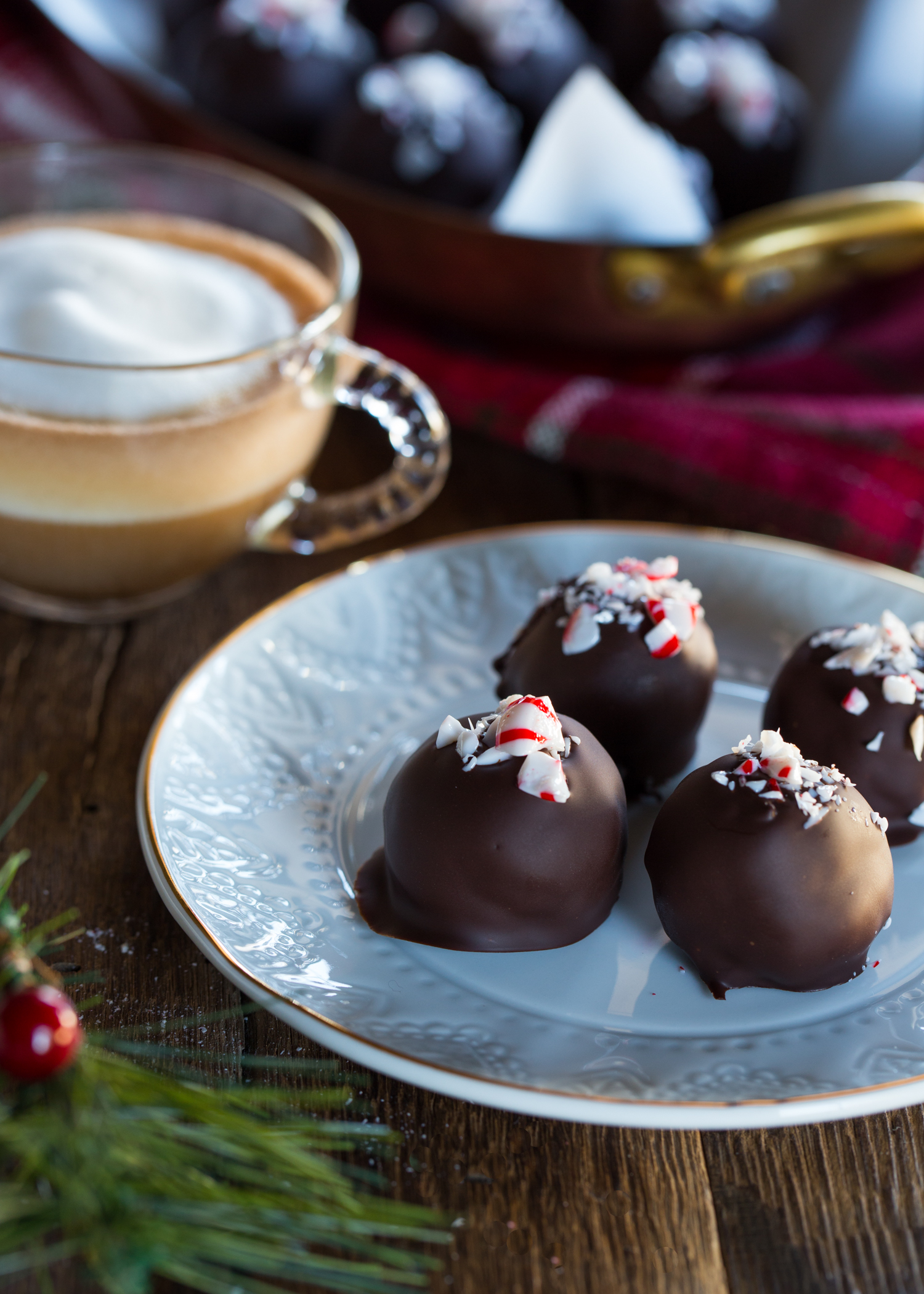 Peppermint OREO Cookie Balls are simple to make, but oh, so good!