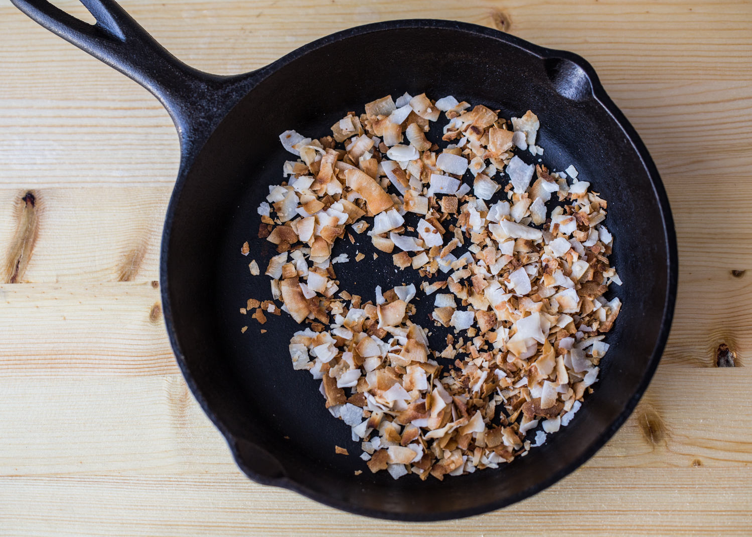 Chocolate Coconut Granola with lots of toasted coconut is a sweet, breakfast treat