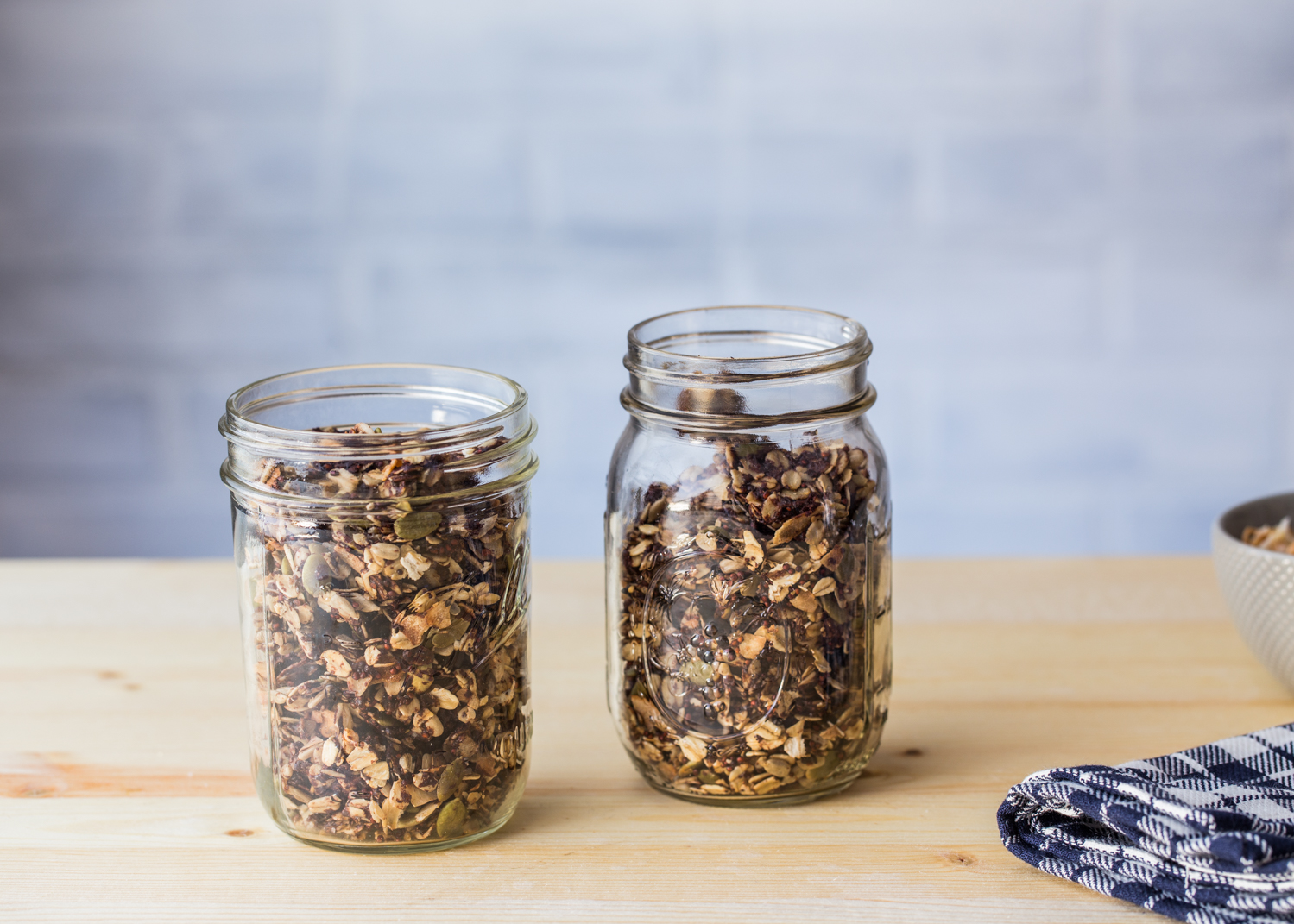 Chocolate Coconut Granola is great for breakfast or a quick snack