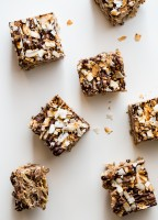 Chocolate Coconut Marshmallow Treats are no-bake and gluten free