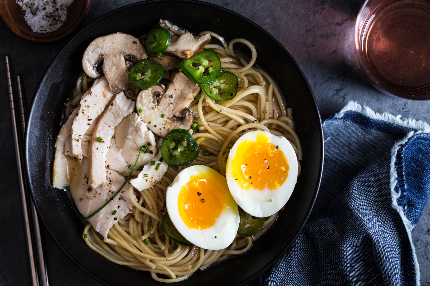 Quick Chicken Ramen can be whipped up in just 30 minutes