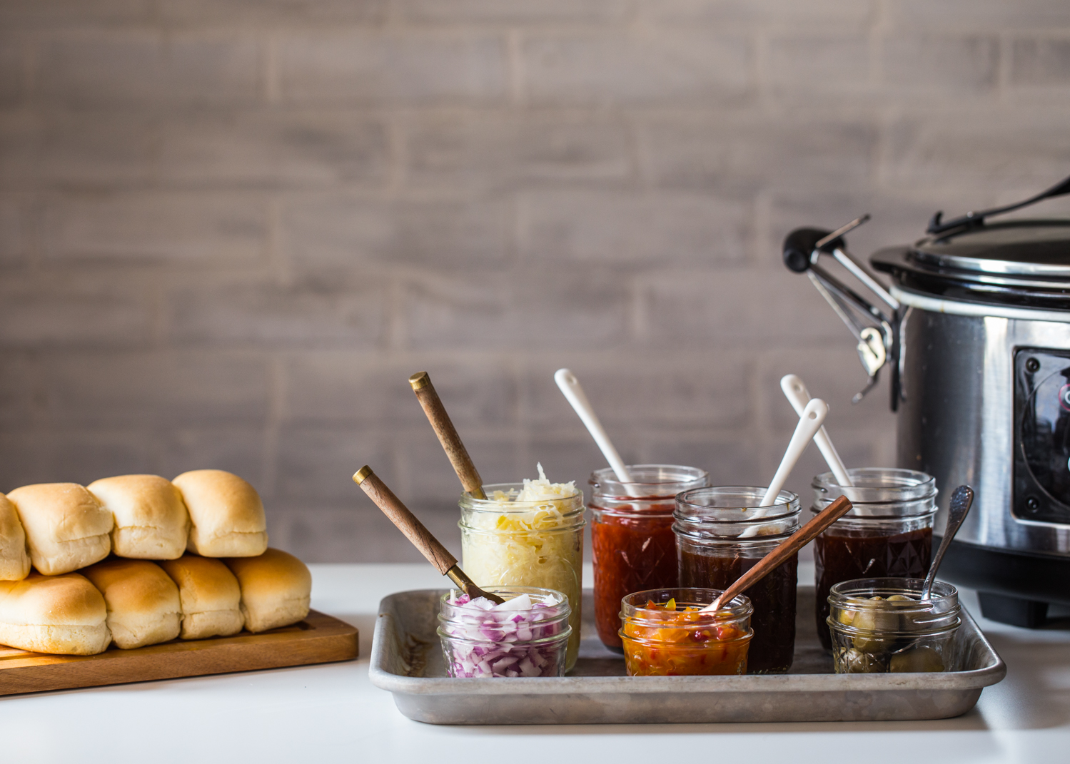 Putting together a Bratwurst and Hot Dog Bar is simple with these easy entertaining tips!