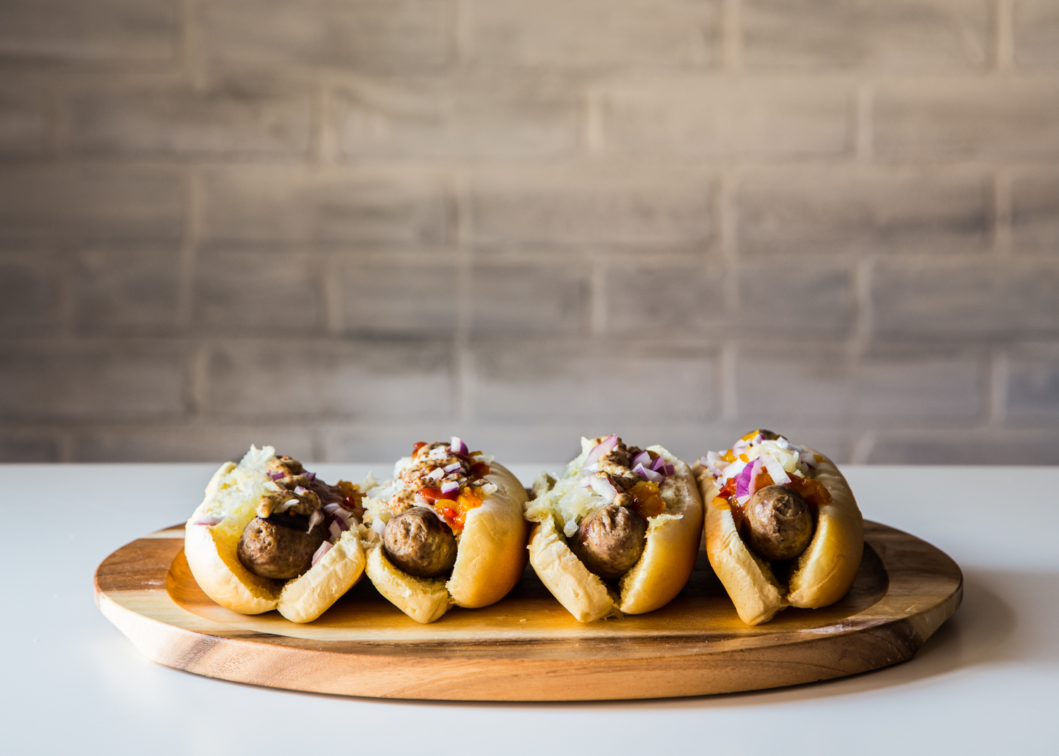 Put together a simple Bratwurst and Hot Dog Bar with these simple tips