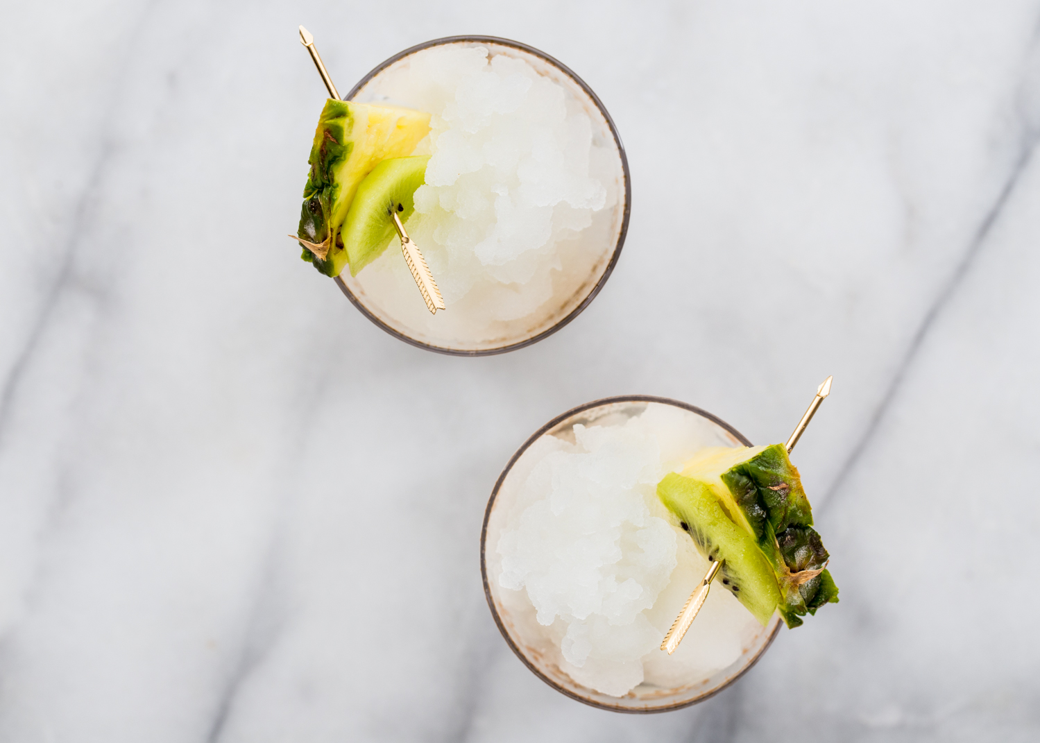 Frozen Pineapple Kiwi Shrubs