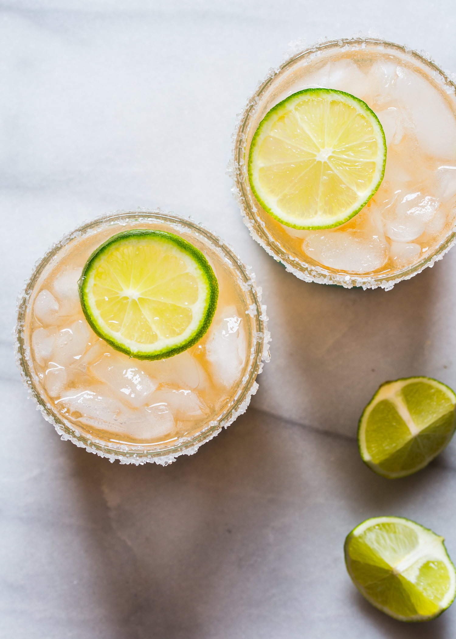 Make a batch of Fresh Cantaloupe Margaritas for your next summer soiree!