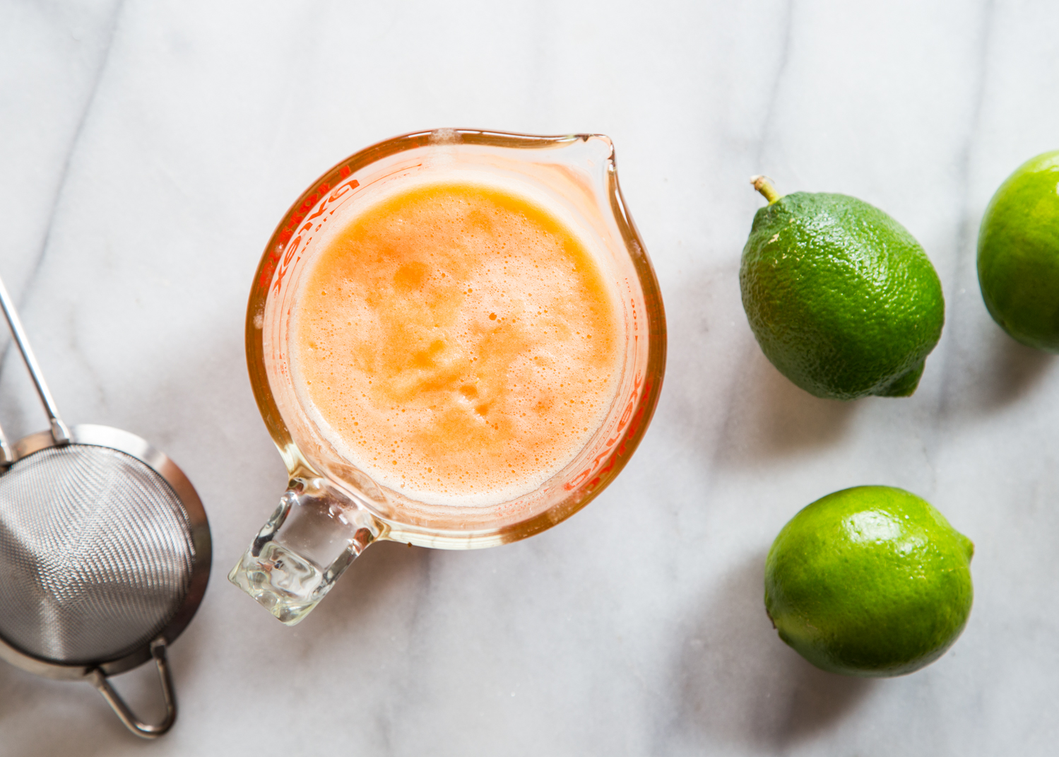 Fresh Cantaloupe Margaritas with sweet, fresh cantaloupe and zesty lime