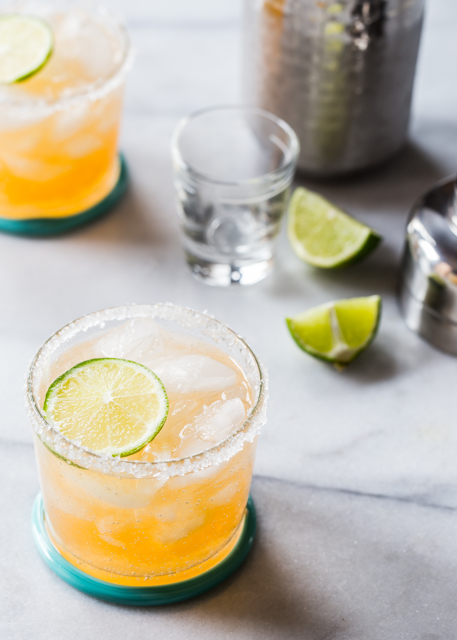 Fresh Cantaloupe Margarita from Jelly Toast