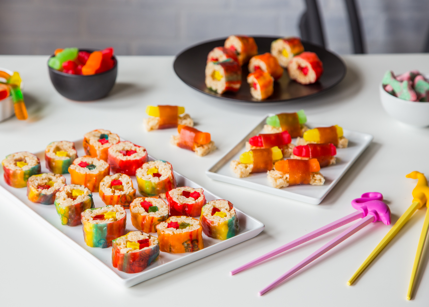 Marshmallow Treat Sushi is just about the most fun you'll have making and eating dessert - ever!