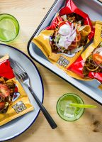 Meatless Walking Tacos from Jelly Toast