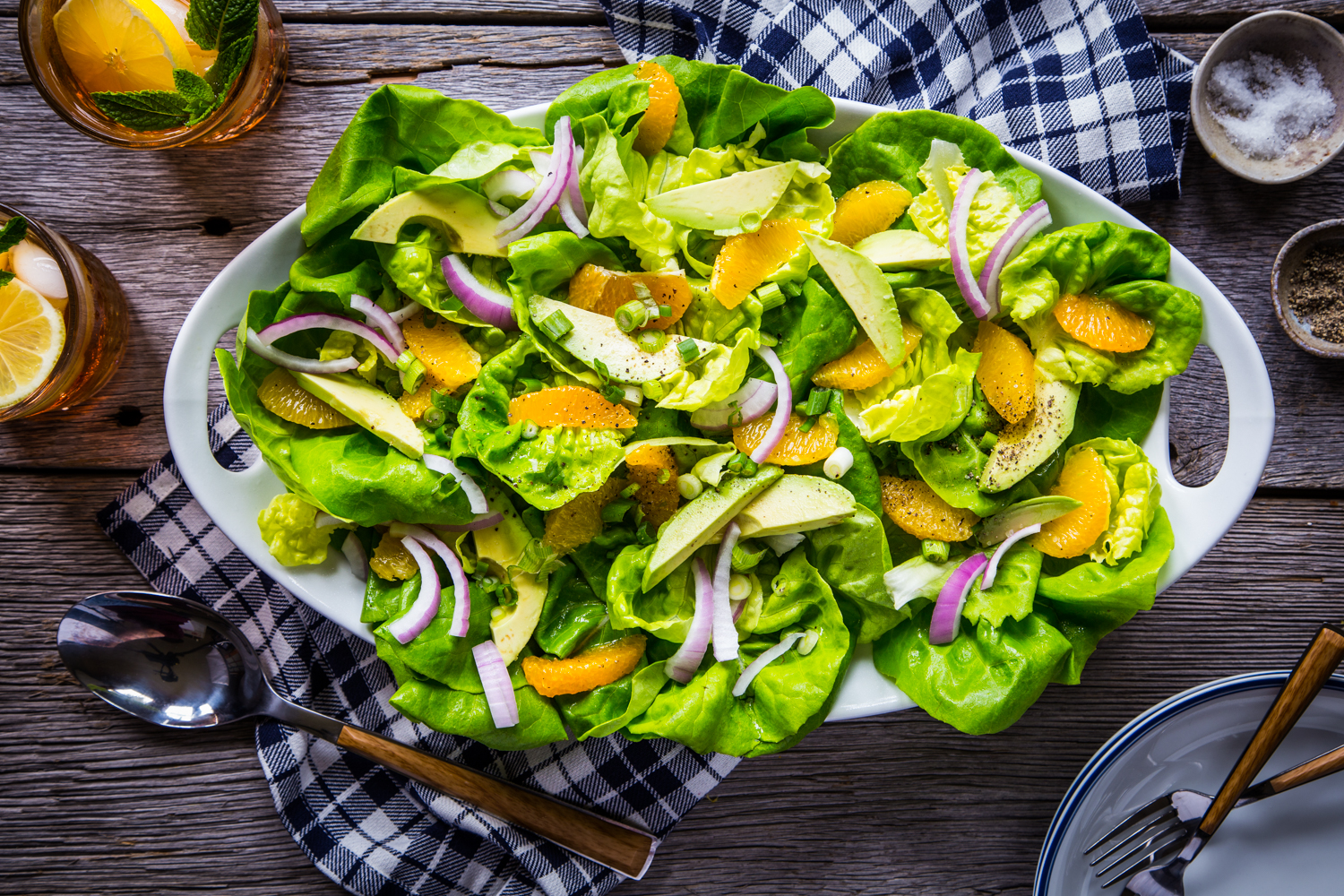 Avocado Citrus Salad with ALDI
