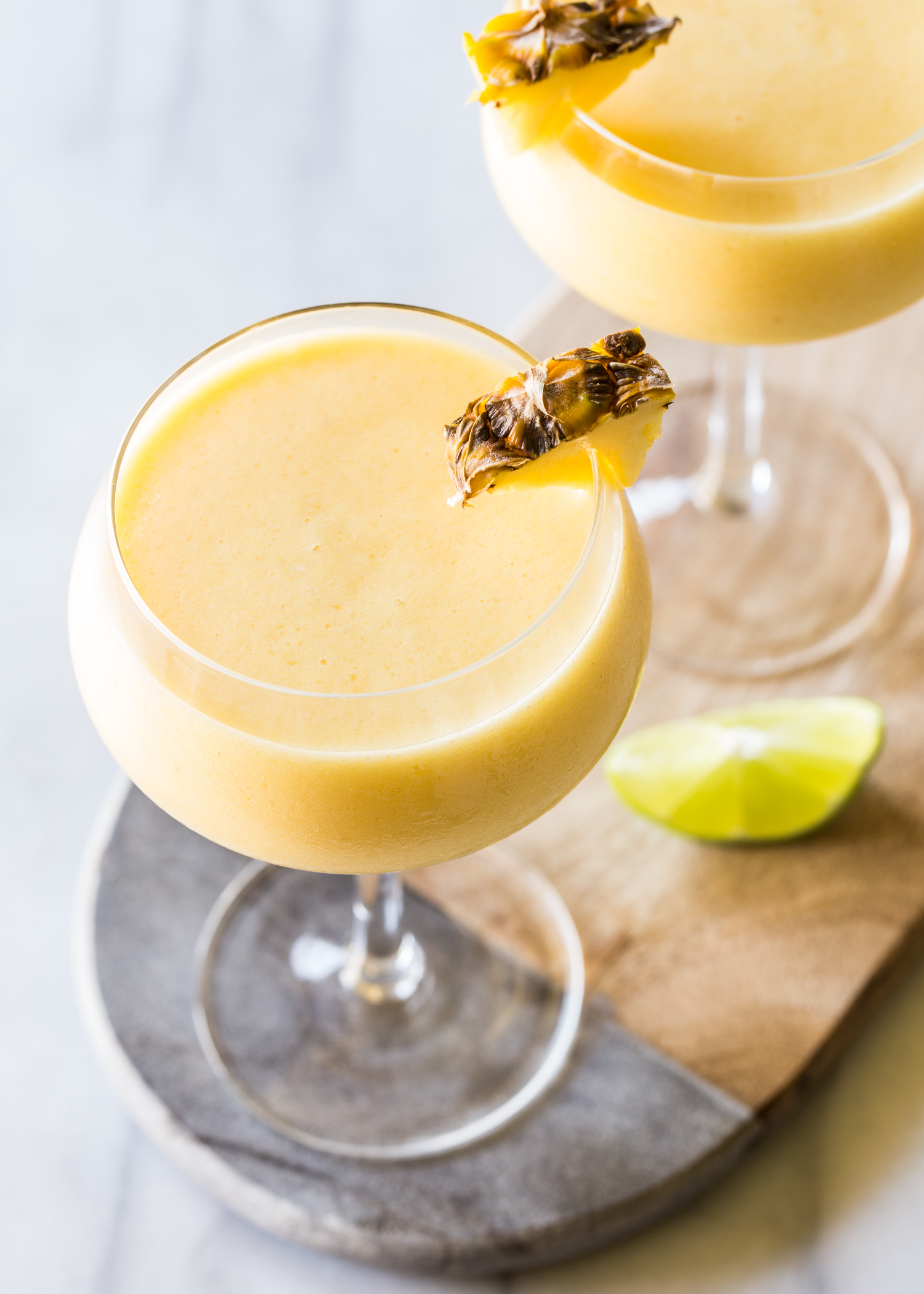 Frozen Pineapple Mango Daiquiri for a smooth refreshing cocktail hour