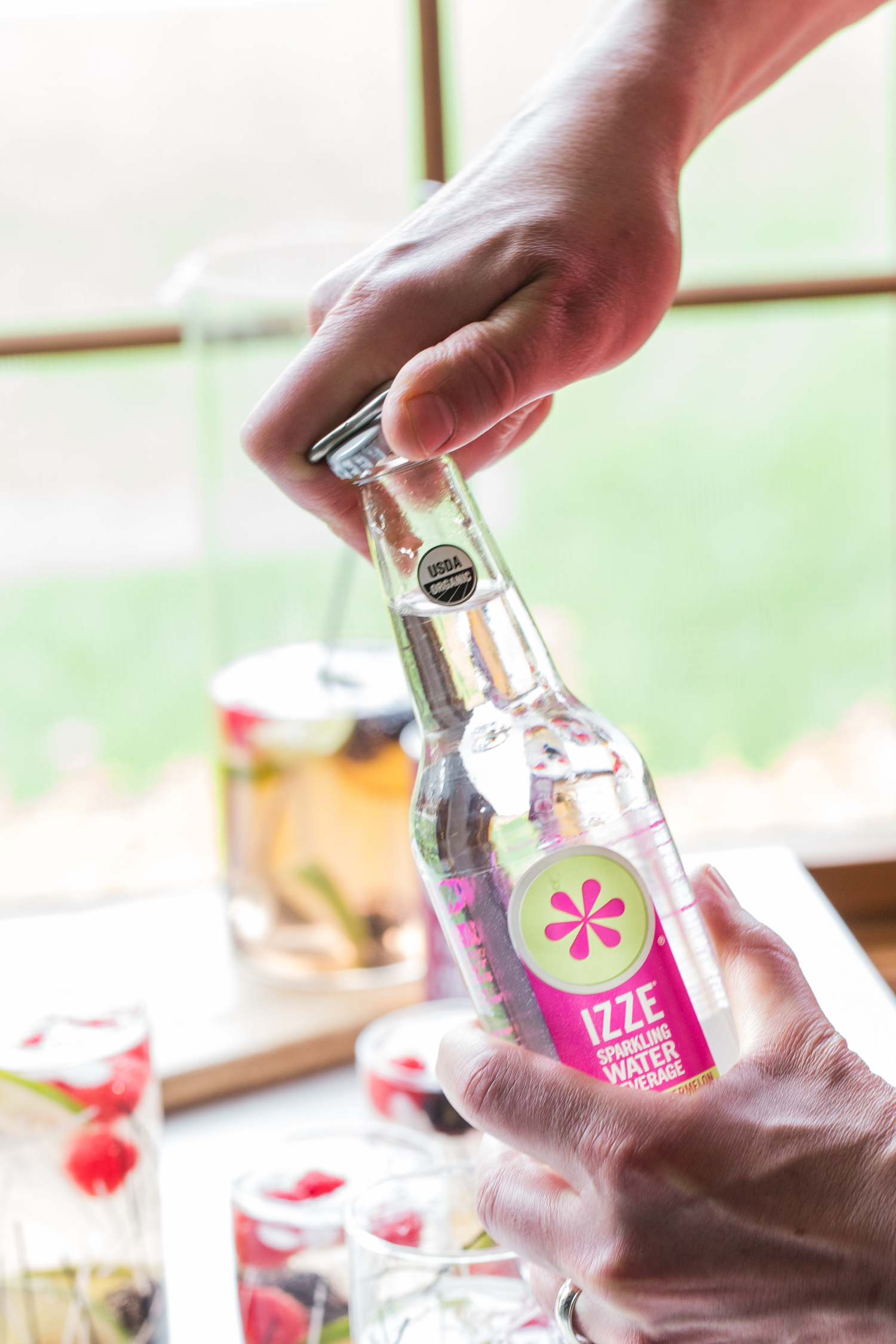 Sparkling Berry Sangria with IZZE® Sparkling Beverages