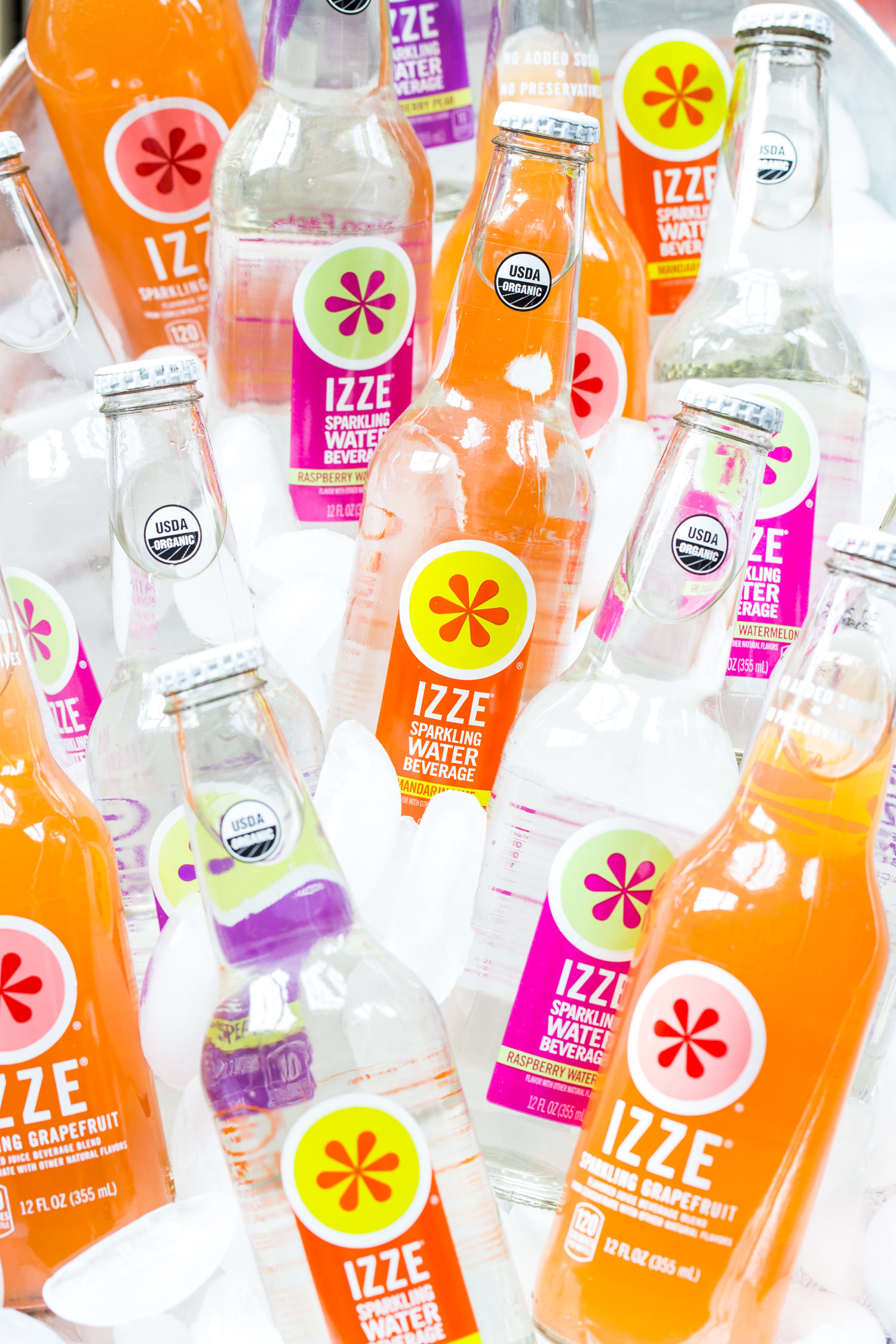 IZZE® beverages are awesome for a summer soiree!