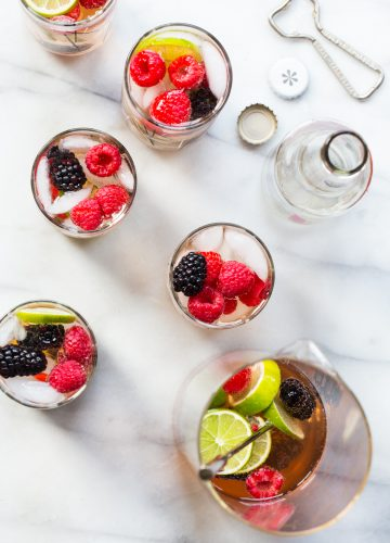 Sparkling Berry Sangria with IZZE®