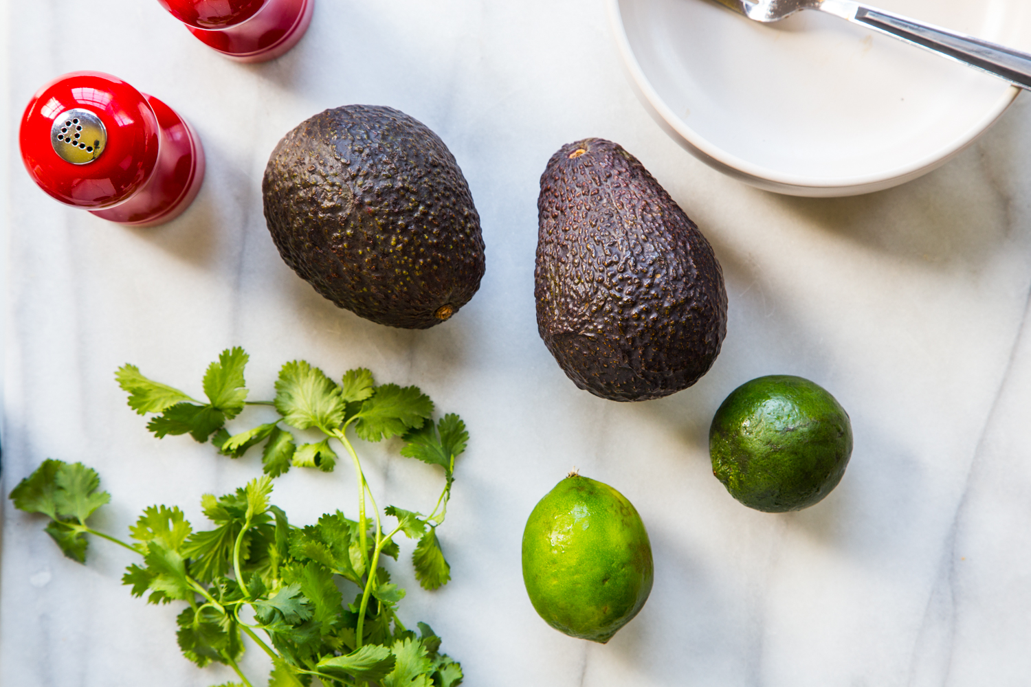 Fresh Avocados from ALDI for guacamole dogs - Homemade Hot Dog Toppings