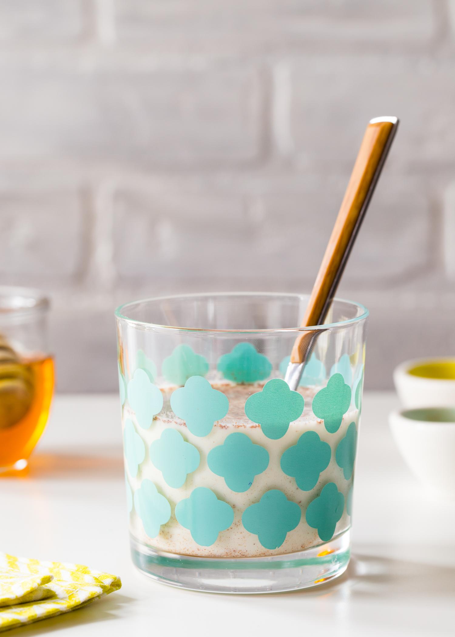 Flavored Milk - Vanilla Cinnamon Milk made with wholesome milk, pure honey, vanilla extract and cinnamon