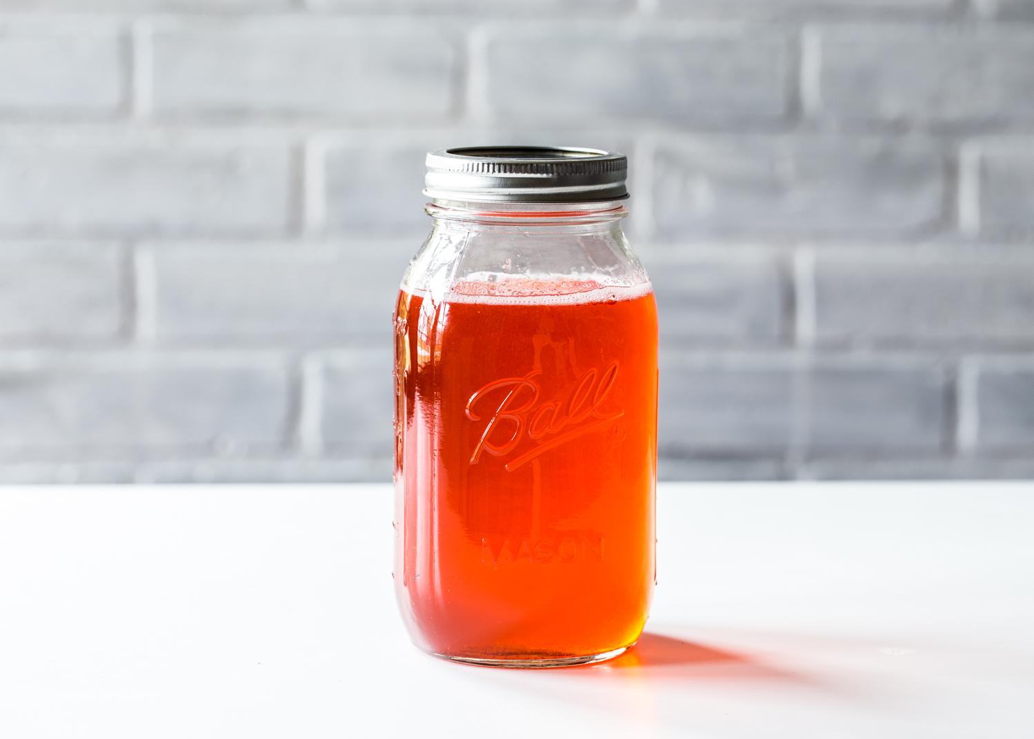 Triple Berry Shrub Syrup for Berry Shrub Spritzer