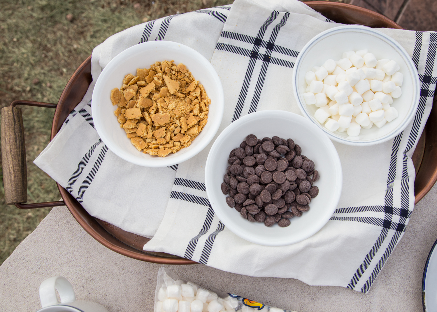 S'mores Pudgy Pies - awesome camp dessert!