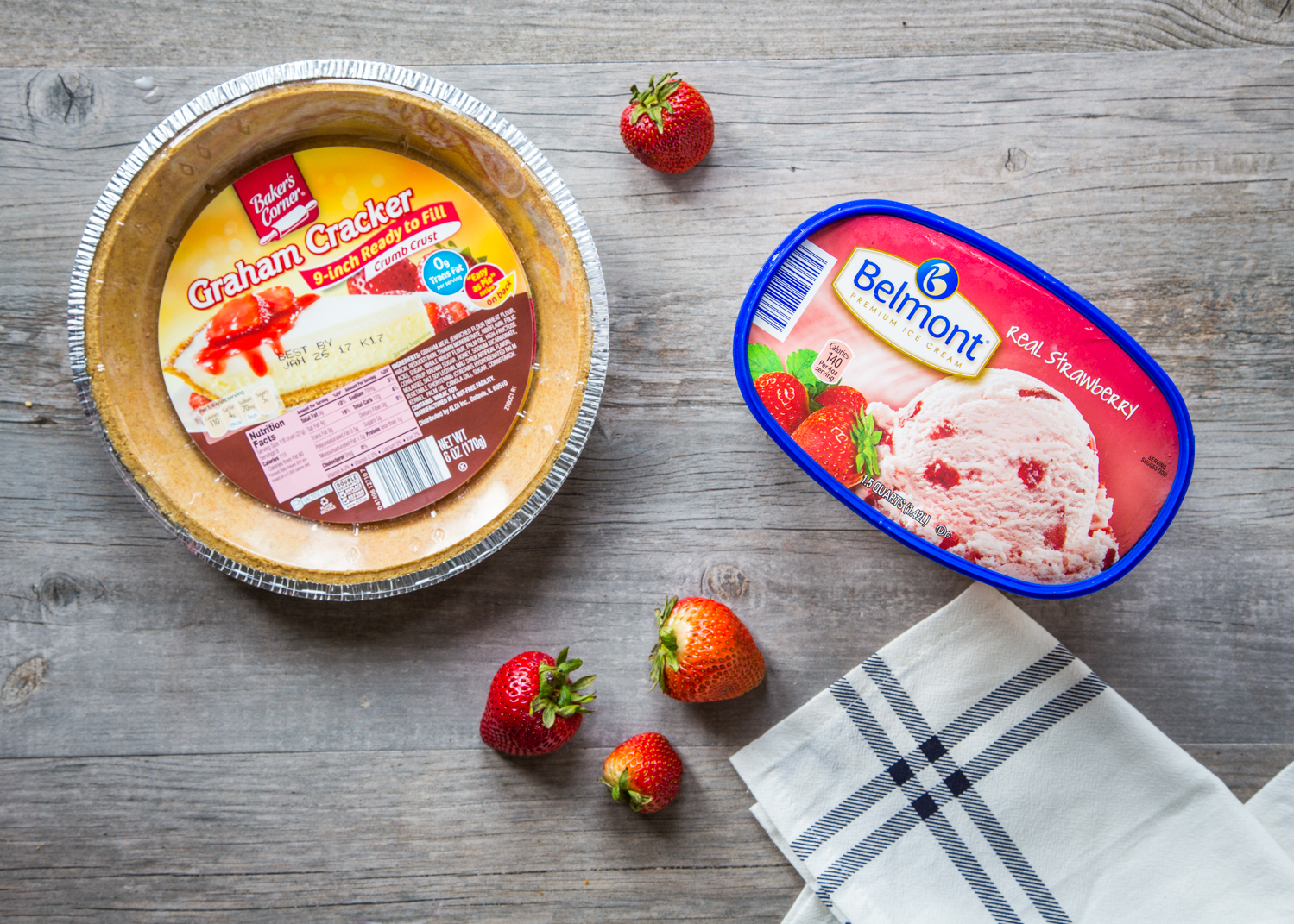 Easy Ice Cream Pies