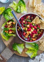 Montmorency Cherry Pineapple Salsa - amazing summer appetizer!