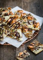 Pumpkin Spice White Chocolate Bark