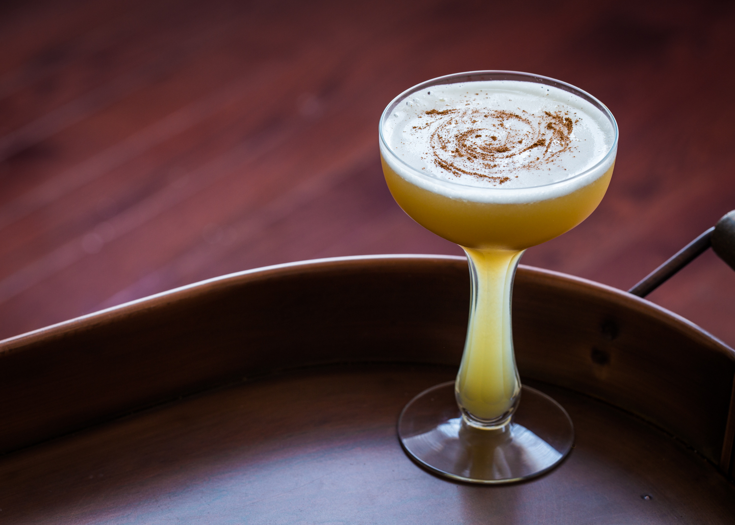 Autumn Sour is a crisp Fall cocktail infused with the pure flavor of cinnamon