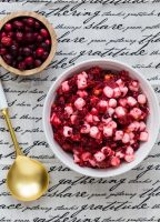 Cranberry Marshmallow Relish