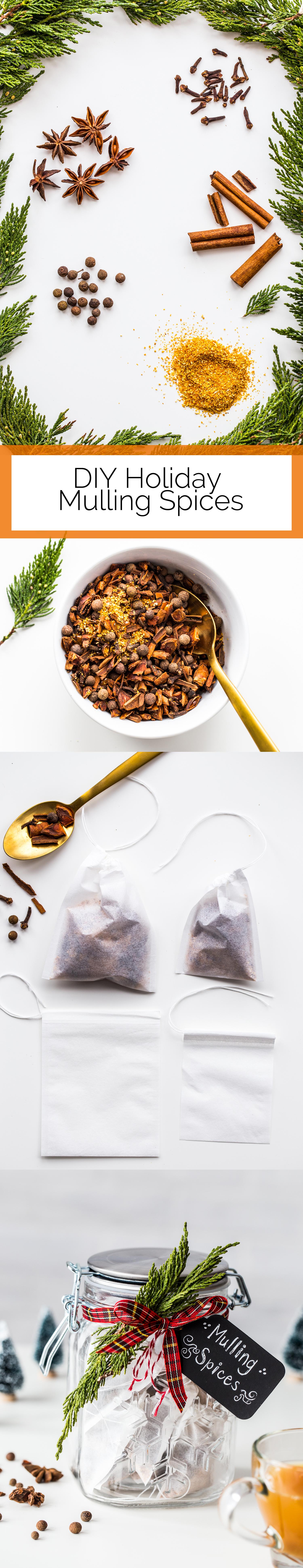 DIY Holiday Mulling Spices Long Pin