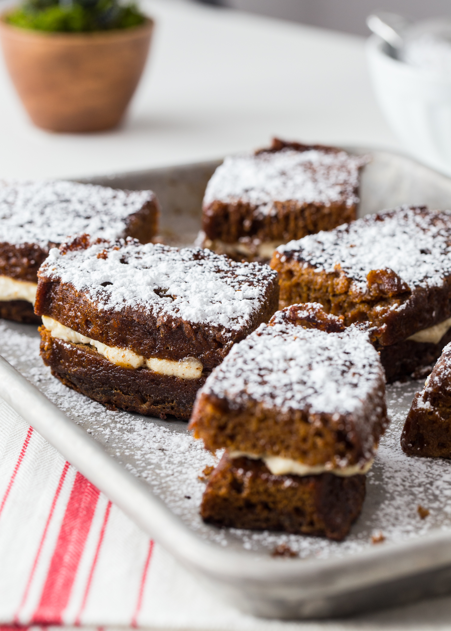 Gingerbread Stuffed French Toast