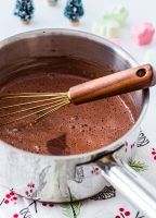 Stovetop Cinnamon Hot Chocolate