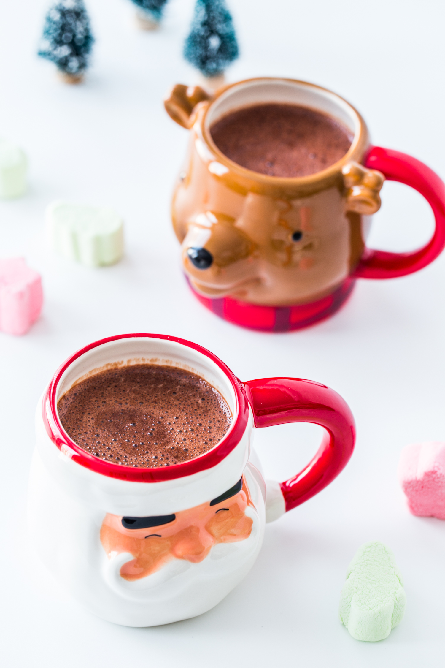 Stovetop Cinnamon Hot Chocolate with Campfire® Marshmallows