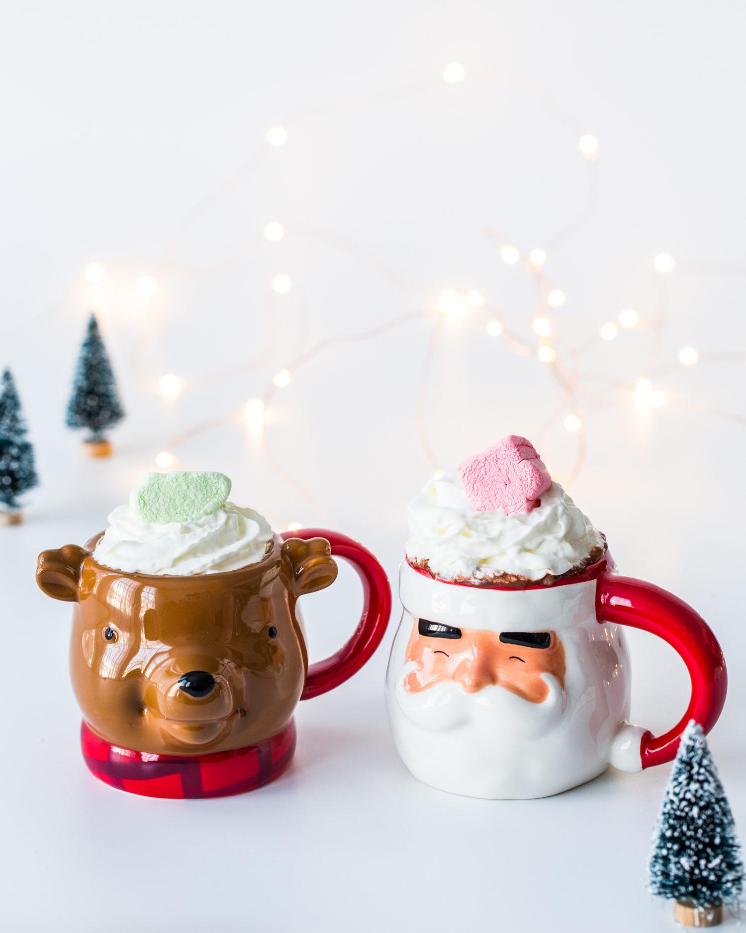 Stovetop Cinnamon Hot Chocolate with Campfire® Holiday Mix Marshmallows