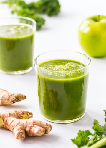 Ginger Green Apple Smoothie