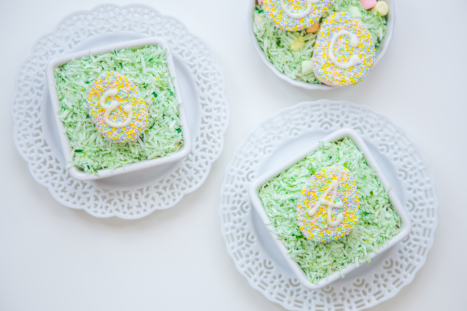 Monogram Marshmallow Easter Eggs with Campfire® Marshmallows