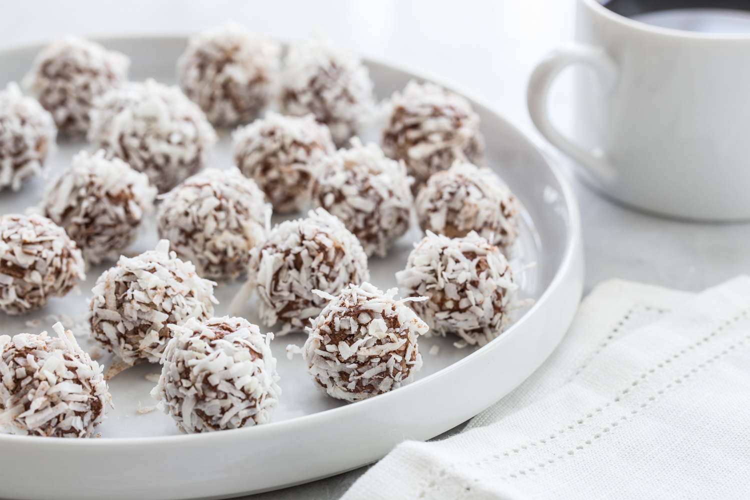 Low Carb Chocolate Coconut Truffles & A Giveaway! - Jelly Toast