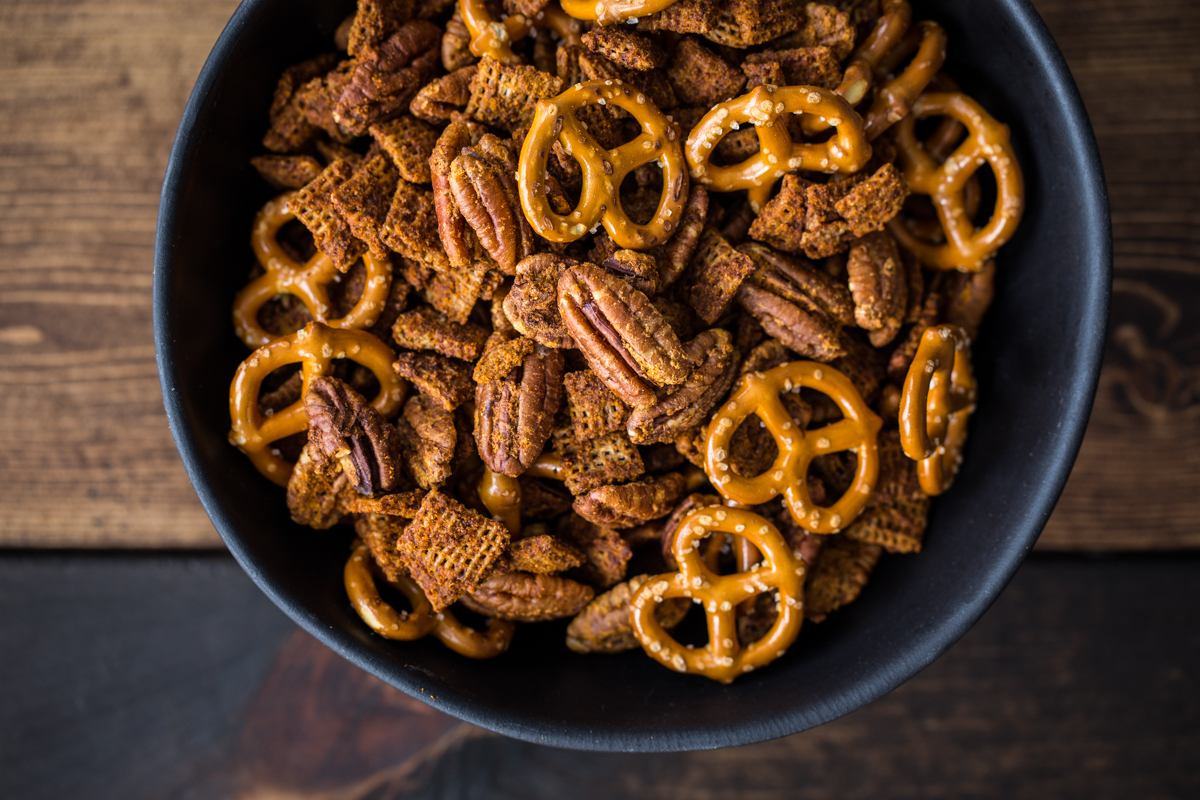 Chilli Lime Pecan Snack Mix
