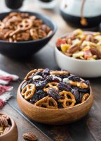Pecan Snack Mixes Three Ways