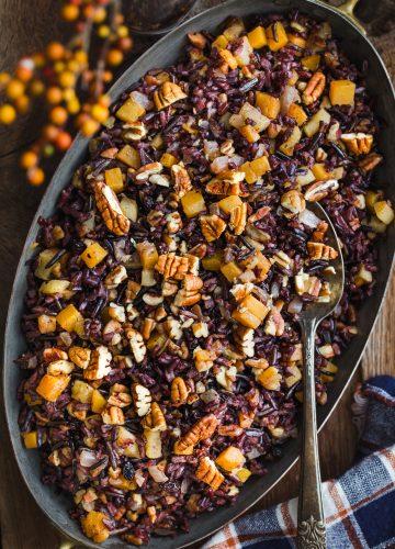 Pecan Wild Rice Pilaf