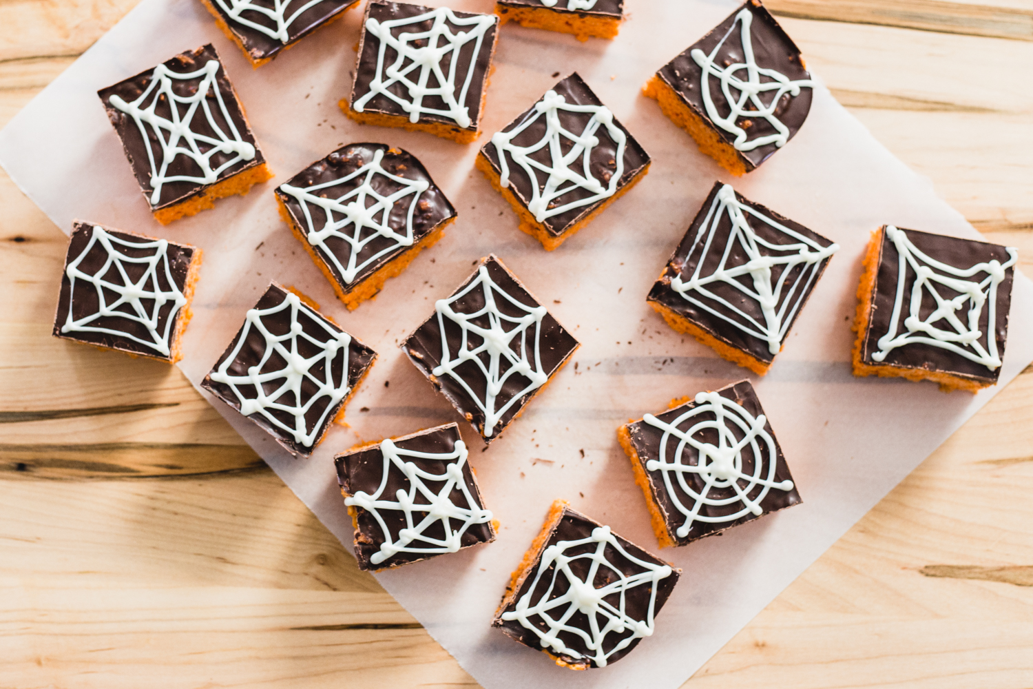 Spider Web Cereal Treats from Jelly Toast Blog