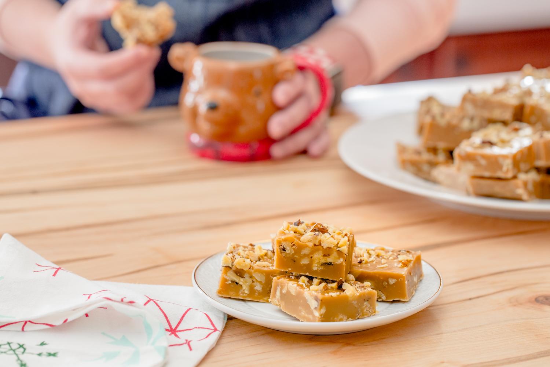 Gingerbread Marshmallow Fudge