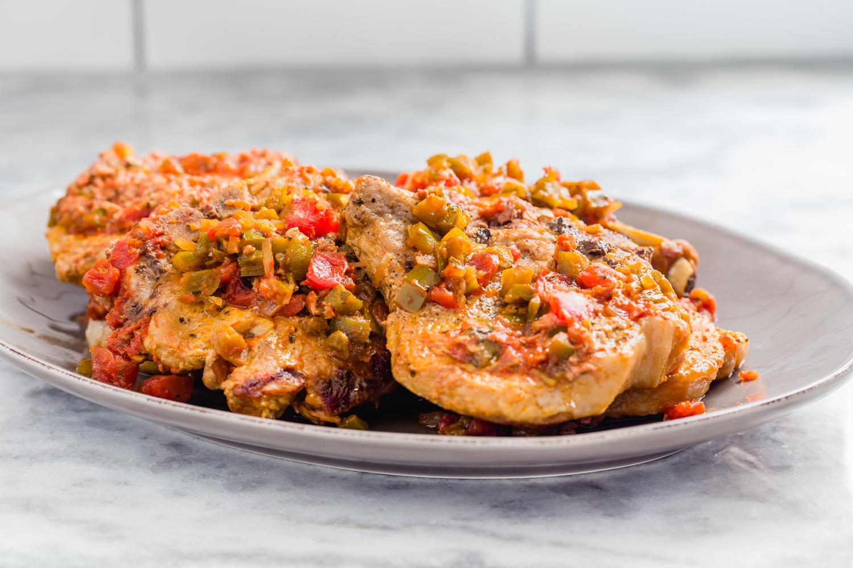 Instant Pot Salsa Pork Chops
