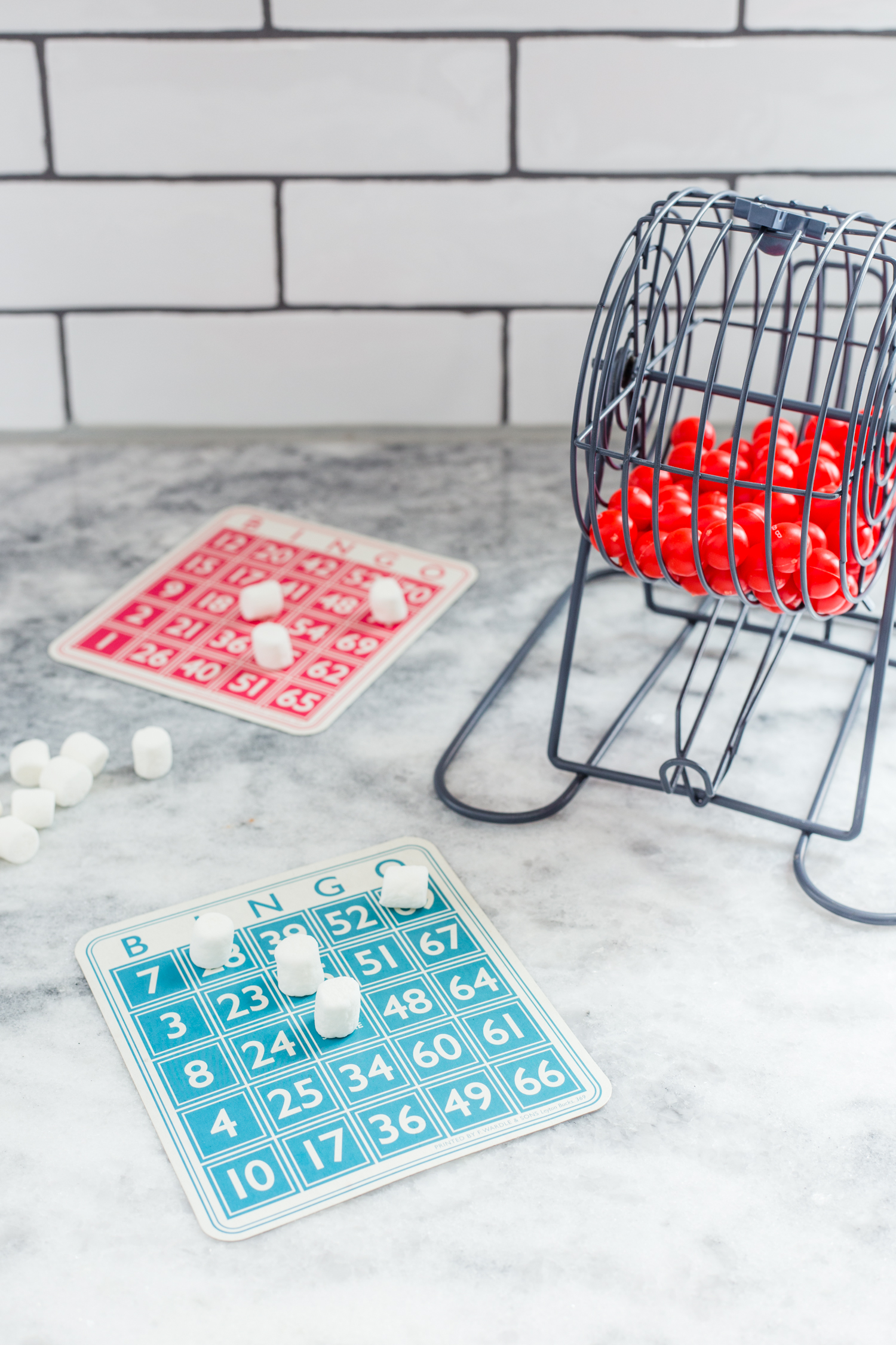 marshmallow bingo snow day activities