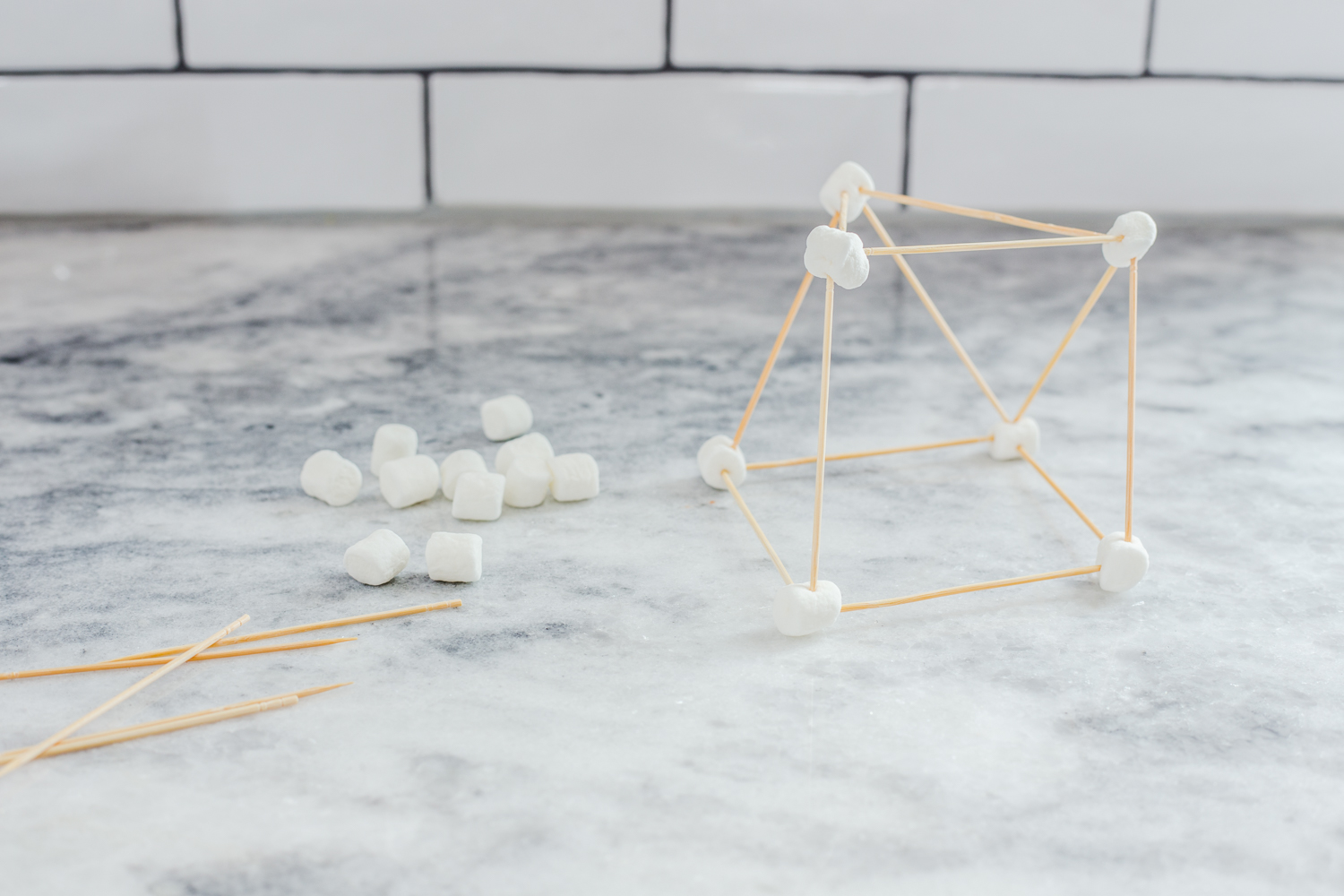 toothpick marshmallow structures and more snow day activities