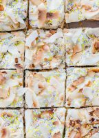closeup of marshmallow treats