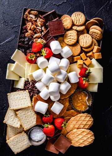 s'mores party platter